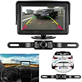 iStrong 9V-24V Wired Backup Car Camera Rear View Screen Monitor For Car/Vehicle/Truck / Van / Caravan / Trailers / Camper with 7 LED Night Vision