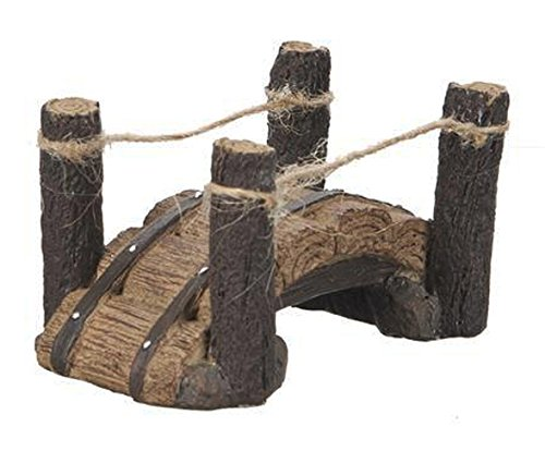 Wood Log Bridge Figurine - Great Outdoors Fantasy Collection by Ganz