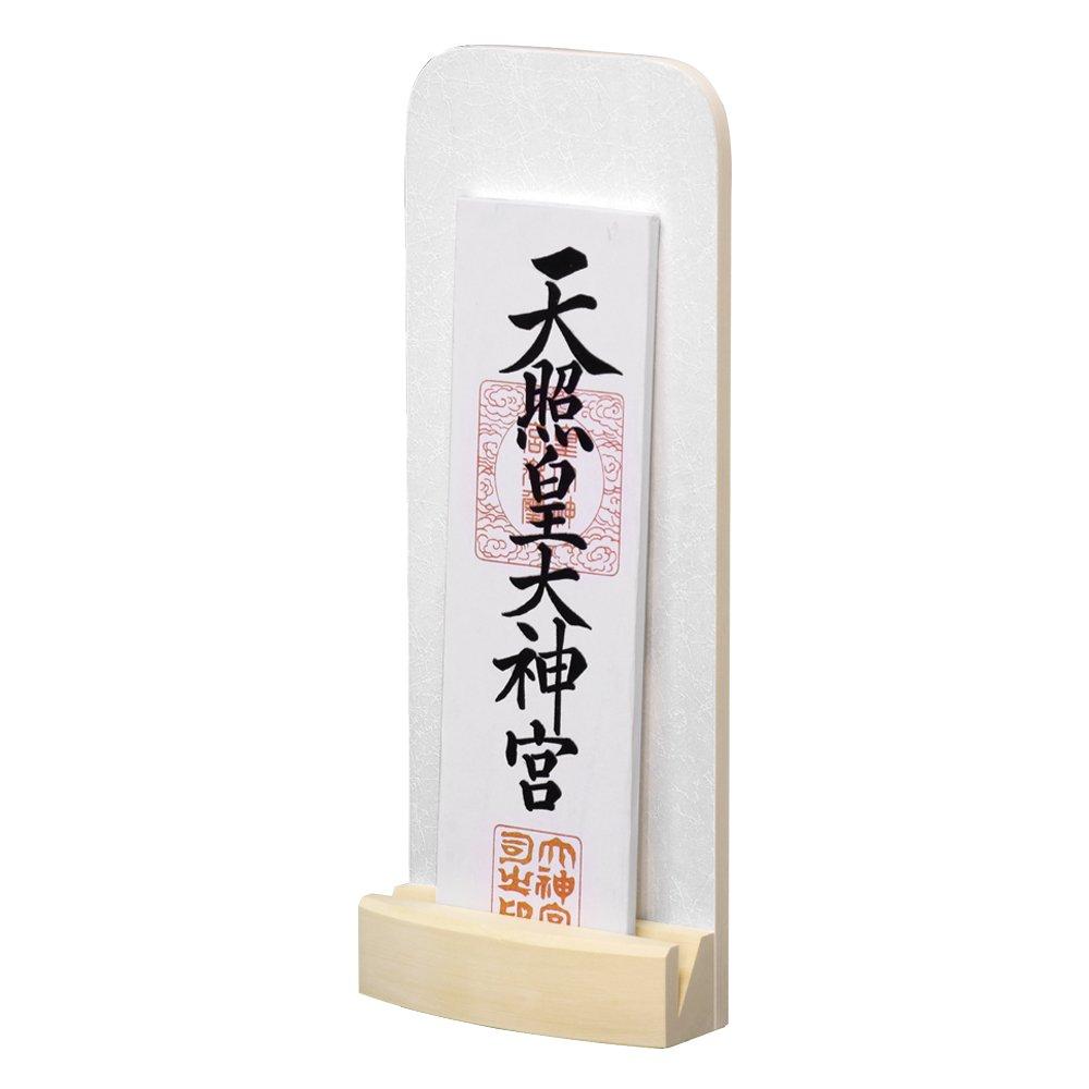 モダン神棚 「kagayaki」 雪色 一社 壁掛け B07C4M1L4G 雪色 雪色