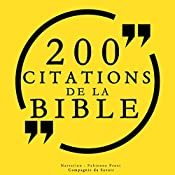 100 citations de la Bible |  auteur inconnu