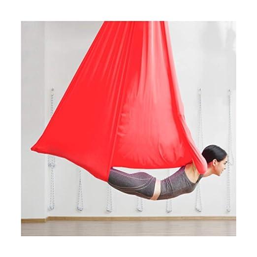 THOR-YAN Yoga Flying Hammock-5m Long 3.1m Wide Swing Aerial ...