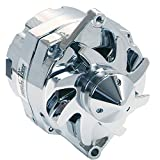 Tuff Stuff 7140ABULL Chrome 140 Amp Alternator for GM