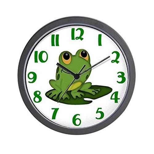 (CafePress Frog Clock Unique Decorative 10