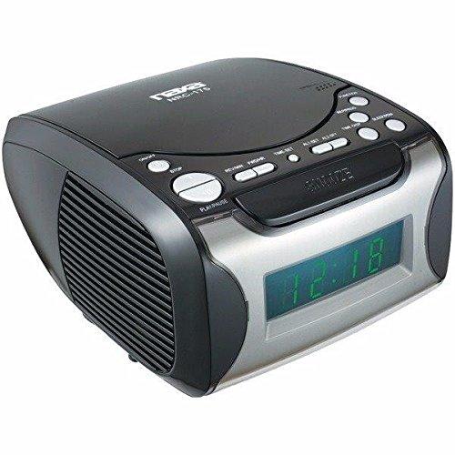 Naxa Nrc175 Digital Alarm Clock Radio & Cd Player