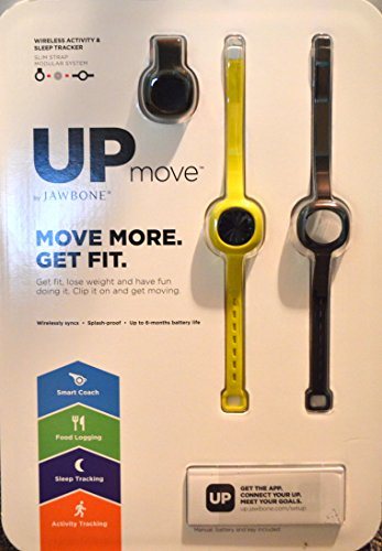 Jawbone Activity Tracker Straps Yellow
