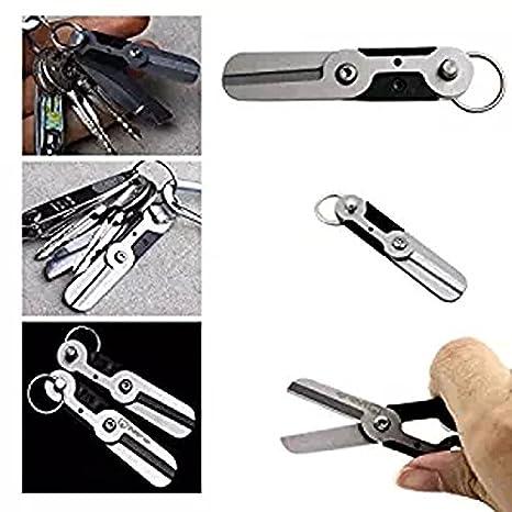 Gadget Llavero cortador Mini muelle Gear Pocket Ring Outdoor ...
