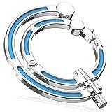 Versatile Purse Hook, Non-Locking Carabiner Rotating Hook Clip, 66lbs...
