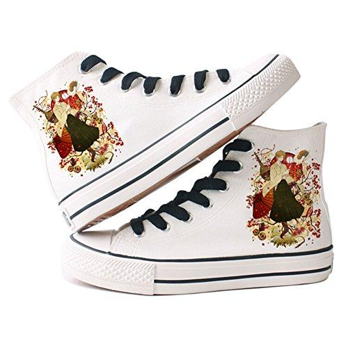 Natsumes Libro Di Amici Natsume Yuujinchou Scarpe Cosplay Scarpe Sneakers Gialle