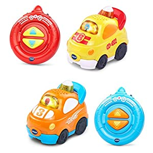 VTech Go Smart Wheels Speedway RC Smartpoint Racer 2-Pack, Multicolor
