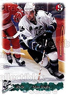 Dan Boyle Hockey Card 1998-99 Kentucky Thoroughblades 3 Dan Boyle