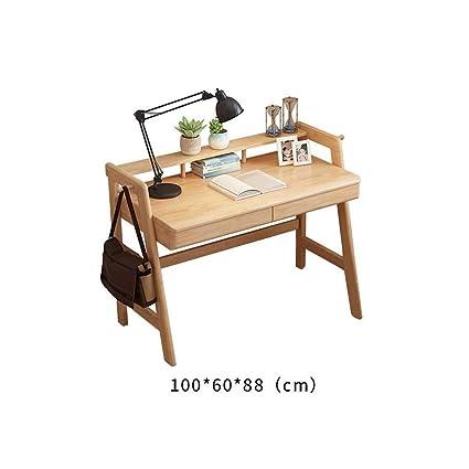 Escritorio Para Computadora De Madera.Escritorio De La Computadora Movil Mesa De Pared Escritorio Nordico