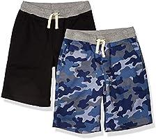 Amazon Essentials Boys Pull-On Woven Shorts