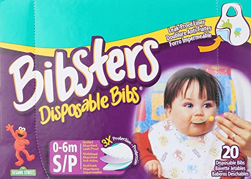 Bibsters Disposable Bib Small Infant product image