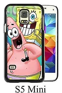 SpongeBob SquarePants Black Unique Abstract Custom Samsung Galaxy S5 Mini Case