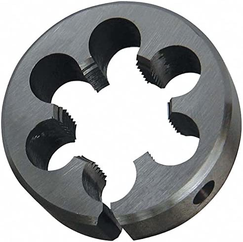 Round Threading Die Pack of 5 13//16 Thread Size 5//16-18 Adjustable Round UNC Outside Dia