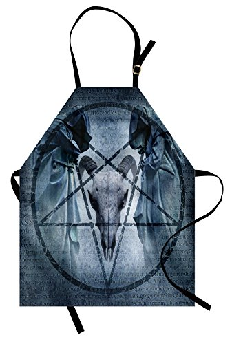 Mother Daughter Horror Costumes Ideas - Ambesonne Horror House Apron, Artwork with