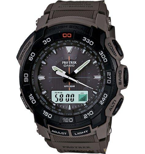 Casio Men's PRG550B-5 Pathfinder Triple Sensor Multi-Function Sports Watch (Pathfinder Triple Sensor Sports Watch)