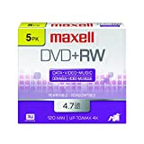 Maxell 634045 DVD Plus RW, 5 Pack (634045)