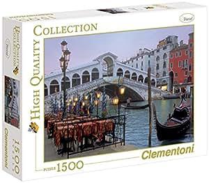 31982 - Clementoni Puzzle 1500 Teile Venezia, 1500 Teile