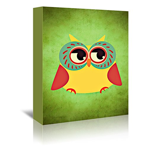 Gallery Wrapped Canvas -  Owl Modern Bird - Wonderful Dream