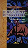 Word 2000, Online Learning Site License : College Keyboarding Lessons 61-120, South-Western Educational Publishing Staff, 0538723505