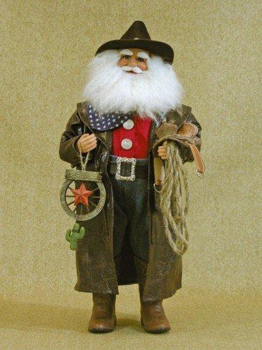 Crakewood Cowboy Santa -