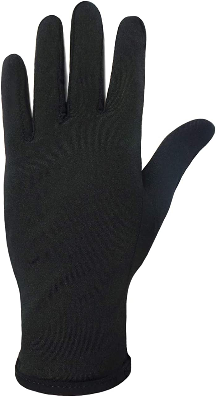 Figure Skating Gloves For Competition and Practice with Gel Palm Protection - Reduce Falling Injuries