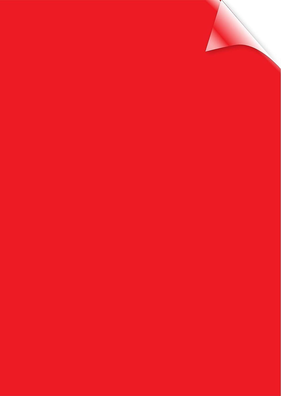 Fellowes 5377201 Copertine per Rilegatura in PVC Colorato, Formato A4, 200 Micron, Confezione da 100 Pezzi, Rosso MAG_ADV_159438