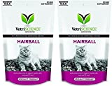 Product review for VetriScience Laboratories Hairball Treat Remedy for Digestive Support Chicken Liver Flavored 60 Soft Treats for Cats Hairball Control Multi Pack Bundled with Feline Health Tracker (2 Pack)
