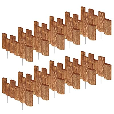 Greenes Fence 18 in. Half Log Edging (2 Pack)