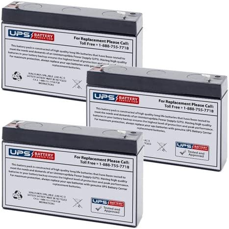 Powerware Personal 500 UPS Replacement Battery Set