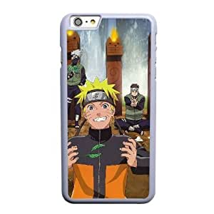 Grouden R Create and Design Phone Case,Kakashi Hatake Cell Phone Case for iPhone 6 6S plus 5.5 inch White + Tempered Glass Screen Protector (Free) GHL-5540036