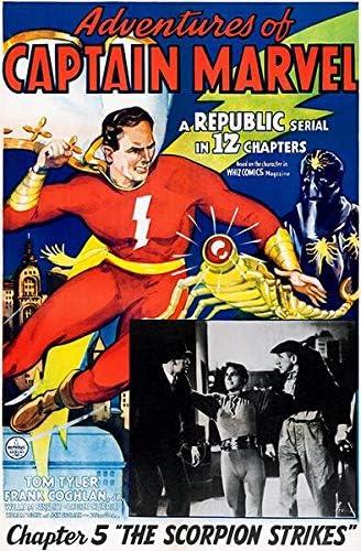 Amazon.com: Adventures Captain Marvel - The Scorpion Strikes ...