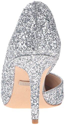 Silver Women's Pump Mischka Badgley Dress Daisy XUq0xwO