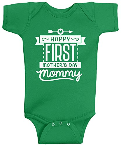 Happy First Mother's Day Baby Bodysuit
