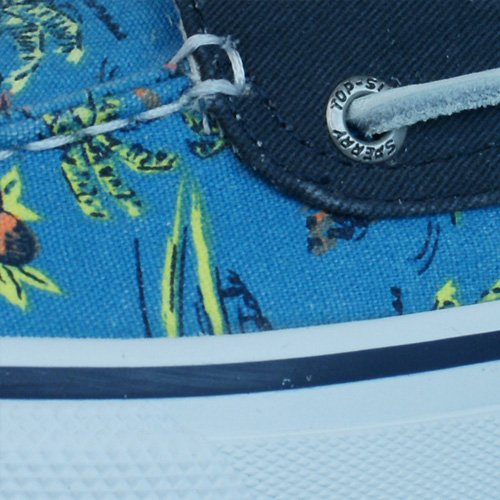 Sperry Top Sider Bahama 2 Eye Hawaii Zapatos del barco de los hombres Blue