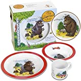 Sound and Dress 73122 The Gruffalo melamine tableware  sc 1 st  Amazon UK & Gruffalo Melamine Feasting Set - Plate Cup and Bowl in a Gift Box ...