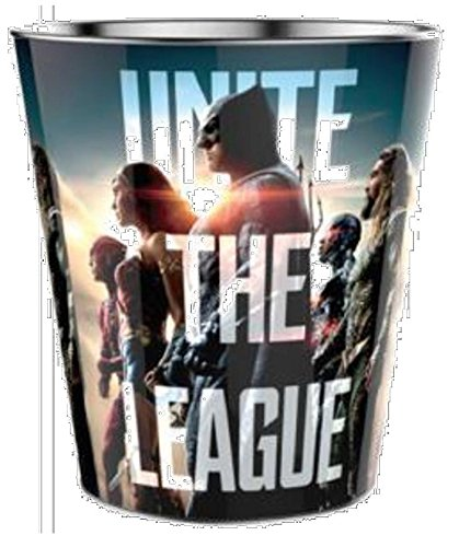 DC Comics: Justice League Movie Theater Exclusive 130 Oz Metal Popcorn Tin