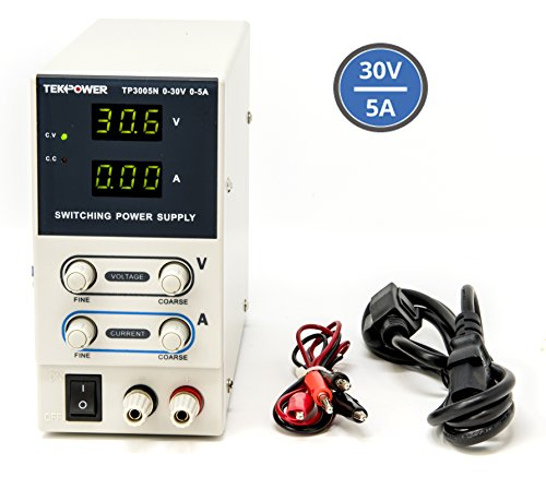 Tekpower TP3005N Regulated DC Variable Power Supply, 0 - 30V at 0 - - Variable Supplies Power Dc