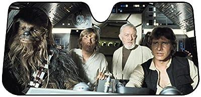 Star Wars - Millenium Falcon Car Sunshade Auto Accessories 58 x 28in