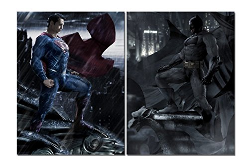 LMPTARTTM-Framed-Painting-2x18x24-inches-print-Batman-V-Superman-dawn-of-justice-Movie-poster-picture-for-living-room-kids-decor-home-decor-wall-art-picture-print-Painting-on-canvas-art-wall-decor