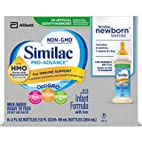 Health & Personal Care : Similac Pro-Advance Infant Formula with 2'-FL HMO for Immune Support, Ready to Feed Newborn Bottles, 2 fl oz, (48 Count)