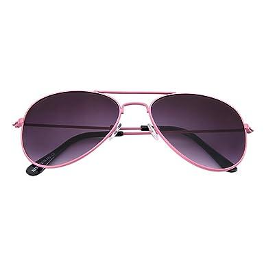 Gafas de Sol Niño, JiaMeng Kids Pilot Trendy Sunglasses para ...