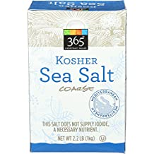 365 Everyday Value, Kosher Sea Salt Coarse, 2.2 Pound