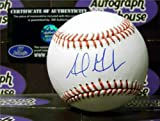 Adrian Gonzalez autographed baseball (Los Angeles Dodgers All Star) MLB Authentication Hologram AW Certificate