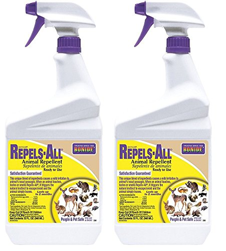 Bonide 238 1-Quart Shot-Gun Repels-All Animal Repellent Ready To Use (2-Pack)