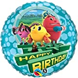"Single Source Party Supplies - 18"" PAC-MAN Birthday Mylar Foil Balloon"