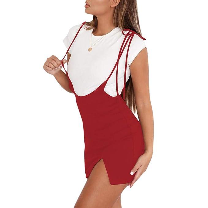Amazon.com: OrchidAmor - Falda de verano sexy para mujer con ...