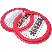 Cerwin Vega 12 Foam Surround 2 Speaker Repair Kit - 12 Inch - Fits AT12, A123, A324 Many Others