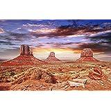Reptile Habitat, Terrarium Background, Cool Desert Sky - 24 Tall x 36 Wide by BannersNStands